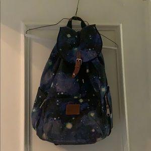 Rare Victoria Secret Galaxy Backpack